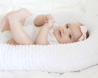 Cosleeping-Baby Bed, Baby Pillow, Baby Cosleep, Cosleep, Sleep Transition, portable baby bed, Cradle Me Pillow, Baby Sleeper, select colors