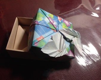 Butterfly Friends Origami Box