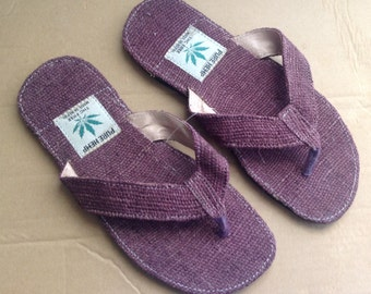 Eco Friendly THC Free Pure Hemp Sandals