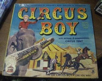 1956 HG Toys Circus Boy (Mickey Dolenz) NBC TV Show Board Game