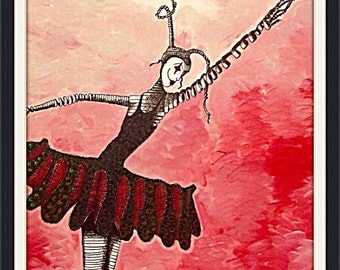 Classical movement No.2 - ( The Ballerina ) print only