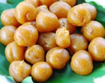 Preserved Durian Jam Snack Dried Fruit Food Sweet 170 Grams