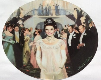 My Fair Lady Collectible Plate - 1989