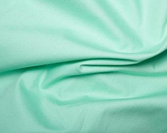 Pistachio Plain Cotton Fabric