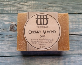Cherry Almond Handmade Soap