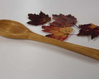 Wooden Red Maple Spoon, kitchen Spoon, Wooden Spoon, gift for the cook, Wooden Serving Spoon, Hand Carved