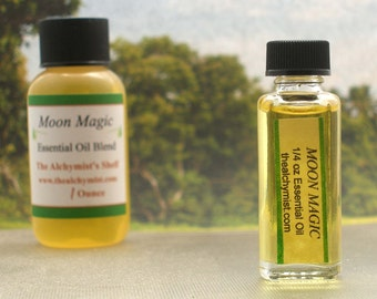 Moon Magic Essential Oil Wiccan Craft Pagan Altar Ritual Spell Goddess