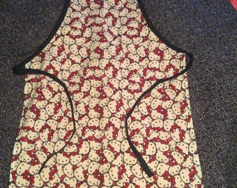 Child size Reversible Hello Kitty Apron