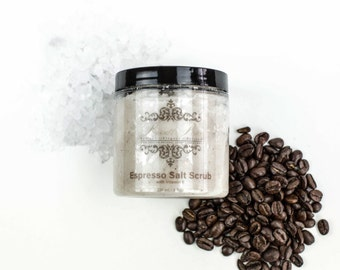 Espresso Salt Scrub - 8 oz.