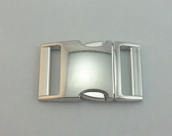 2-4pcs - Silver Metal Side Release Buckles for your Paracord Needs
