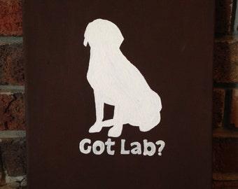 """Got Lab? Canvas (9""""x12"""")"""