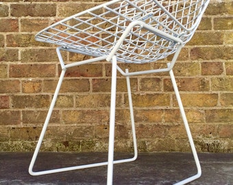 SOLD SOLD Autentic 60s Harry Bertoia Chair For Knoll Mid Century Modern Vintage Retro 50s 70s