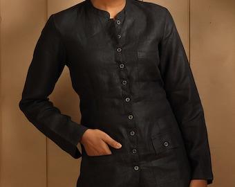 Mahe Linen Jacket