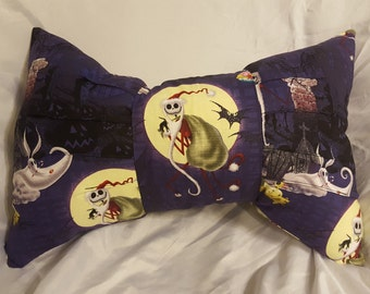 Nightmare Before Christmas Bow Pillow