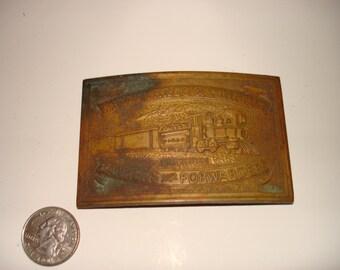Wells Fargo Belt Buckle by Tiffany