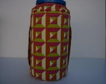 Pickle jar cozy/80oz. jar cozy/jar cover/Raw milk/kombucha/juice/Fermenting/Sprouting/100% cotton