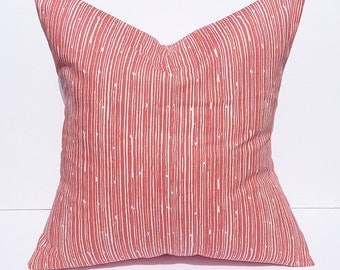 Throw pillow, accent pillow, decorative throw pillow cover, accent pillow cover, coral pillow cover, home decor, couch pillow cover, coral