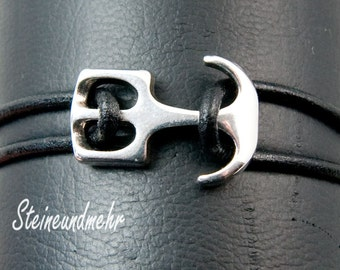 1 x silver plated anchor Art3242