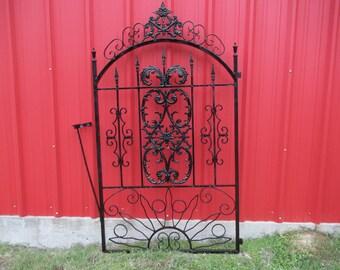 Antique Vintage Victorian Iron Gate