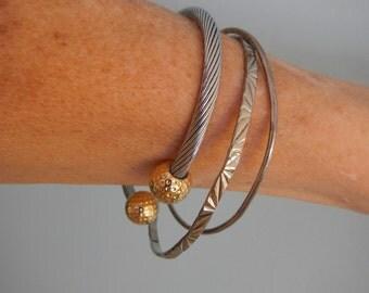Set of 3 Bracelets, Vintage