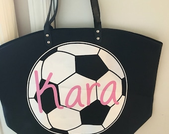 Soccer Personalized bags, Soccer Bag, Soccer Tote