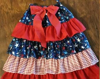ruffled skirt w/headwrap