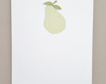 Pear Greeting Card - Set of 2 Cards