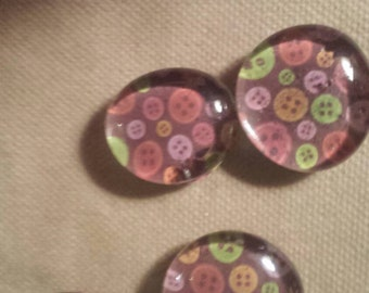 Refrigerator magnets-Buttons