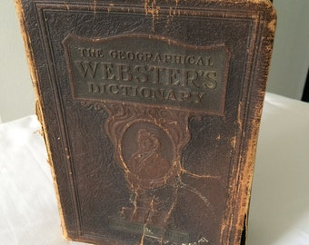 1927 Geographical Webster's Dictionary