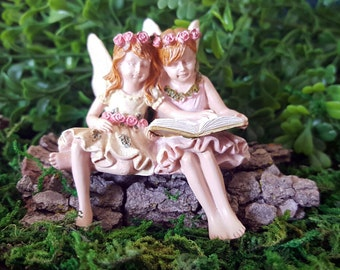 Miniature Fairies Paige and Phoebe