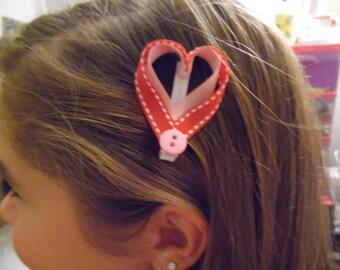 Shadow Heart Ribbon Sculpture Bow