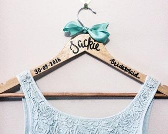 Bridal party clothes hangers