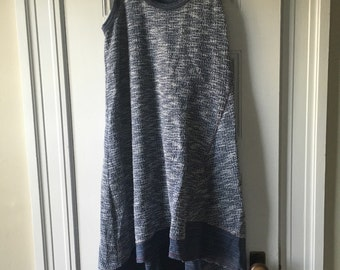 Anthropologie terry dress/jumper size S
