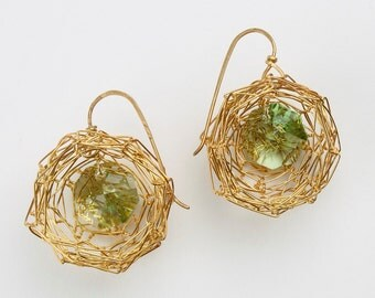 Nest Earrings - Large
