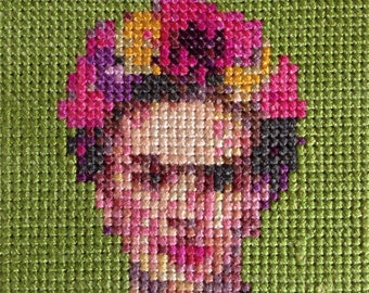 Frida Kahlo - Cross Stitch pdf Pattern