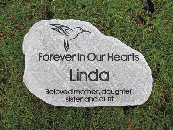 Free Shipping Tumbled Stepping Stones Personalized Engraved