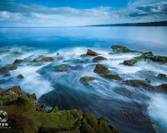 La Jolla Cove, Tide Pools, Ocean Rocks, Ocean View 3, Fine Art Print