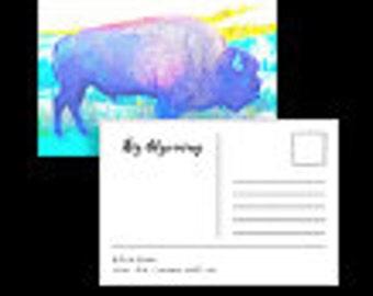 Big Wyoming Postcards
