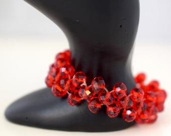 Crystal Stretchy Fashion Glam Bracelet
