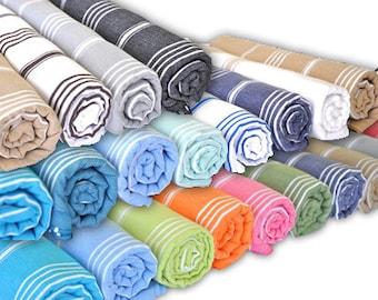 Hammam Towel | Fouta | Peshtemal | Bathroom | Beach | Towel | Lightweight | Colourful