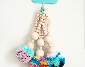 Large Beaded Pompom Drop.2