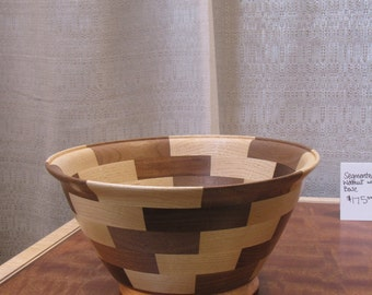 Handcrafted Wood Bowl