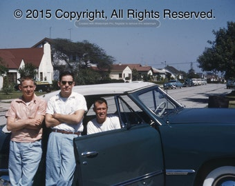 American Suburbia 1940s Wall art photo print A3 12 x 16.5in vintage classic car, vintage clothes, Back to the Future