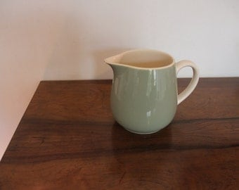Green pitcher Villeroy and Boch vintage