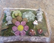 Miniature garden kit