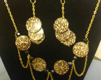 Necklaces and earings