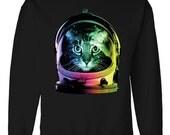 Space Cat Astronaut: Sweater