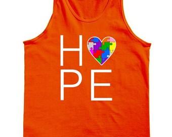 Hope Love Autism Tank Top