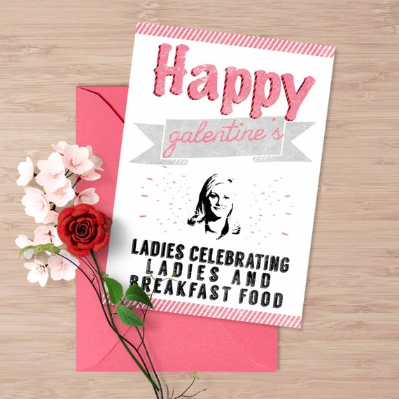 Galentine's day card Happy galentine's day by ...