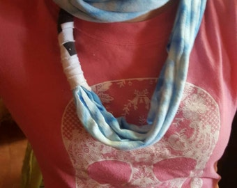 Hobo scarf repurposed t-shirts to scarves neck wraps
